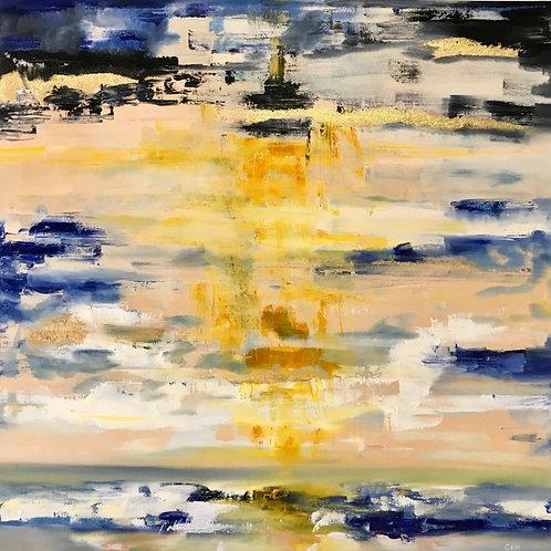 Golden Sunset 30x30
