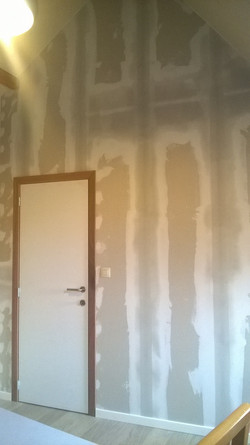 cloison plafond  isolation gyproc