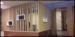 cloison bois aménagement intérieur m