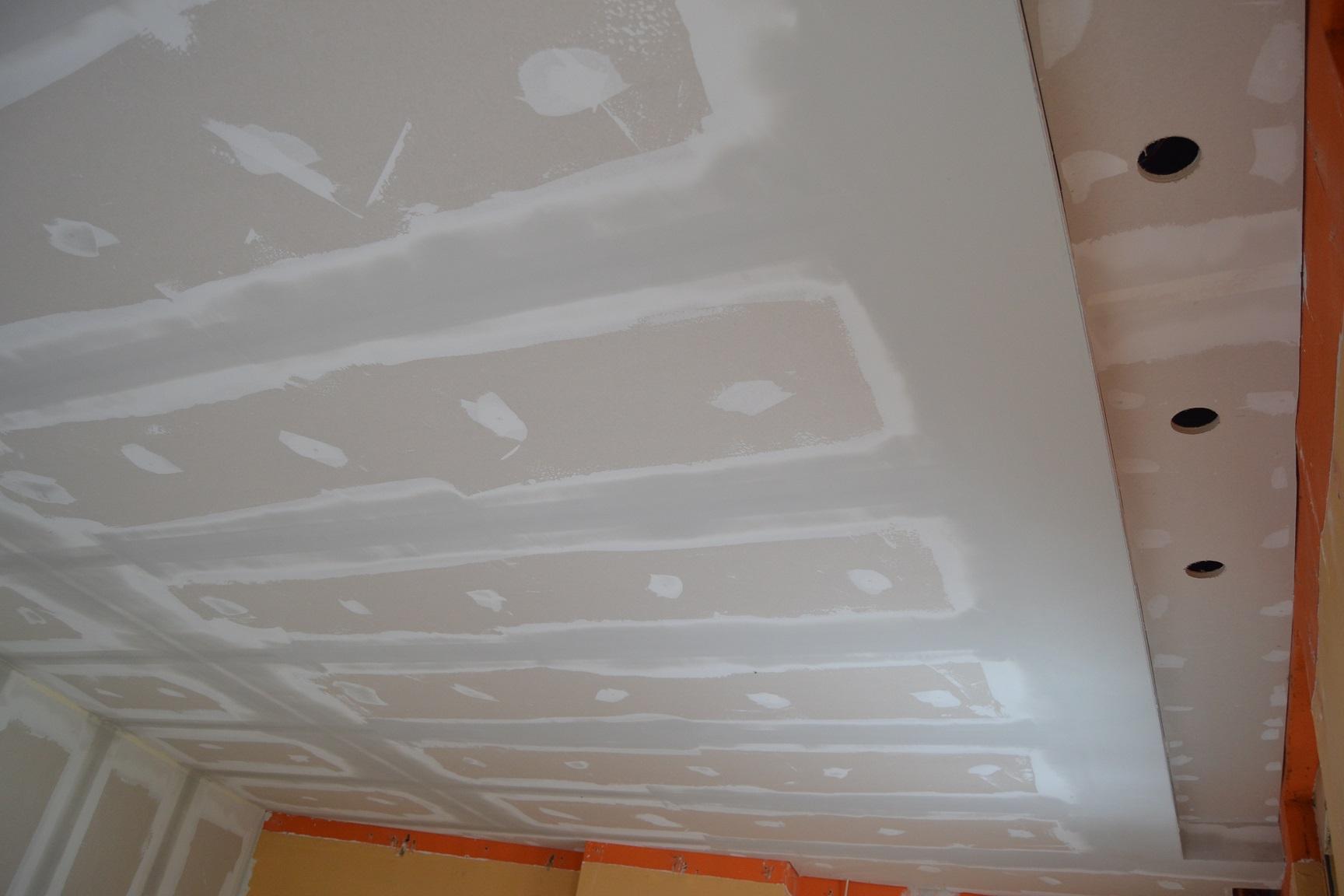 plafond cloison isolation gyproc gre