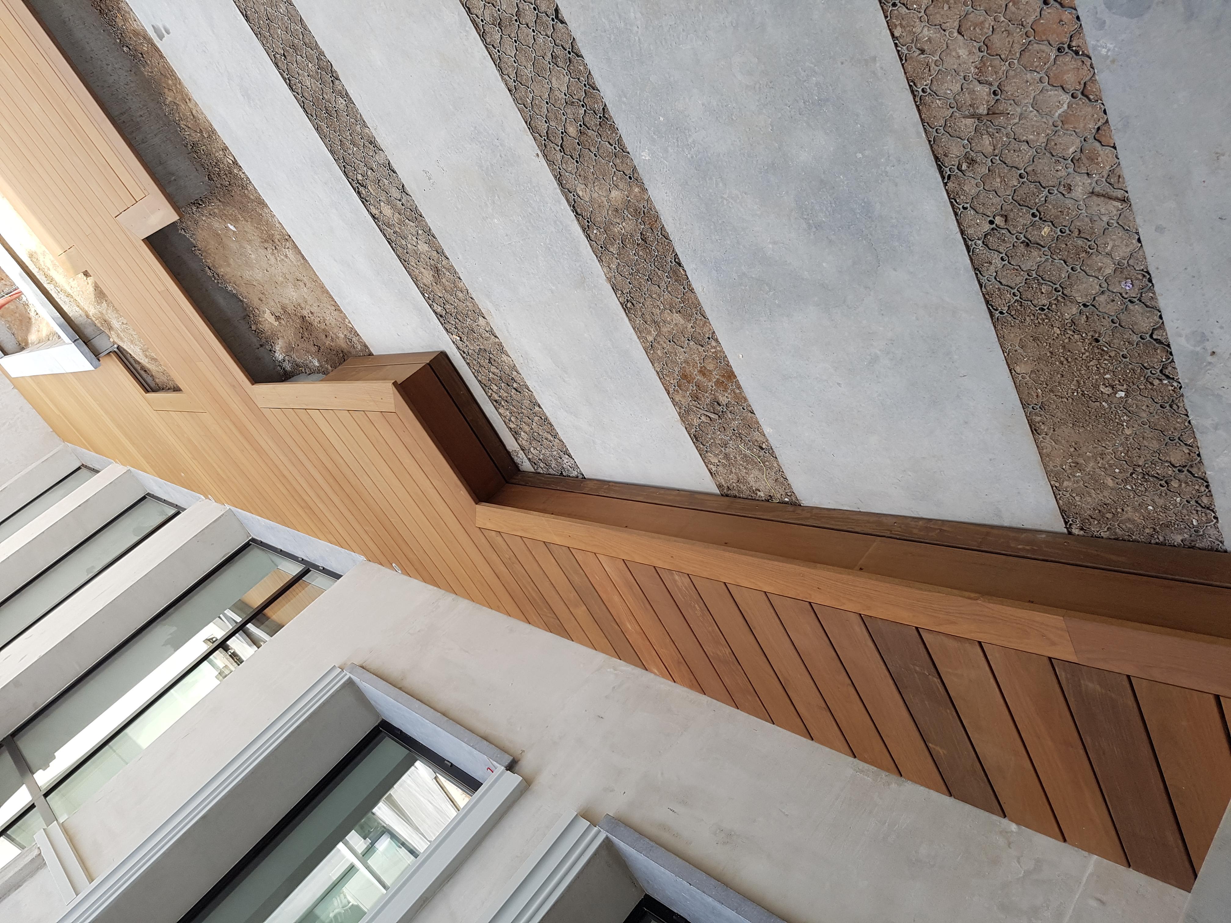 terrasse extérieure en bois