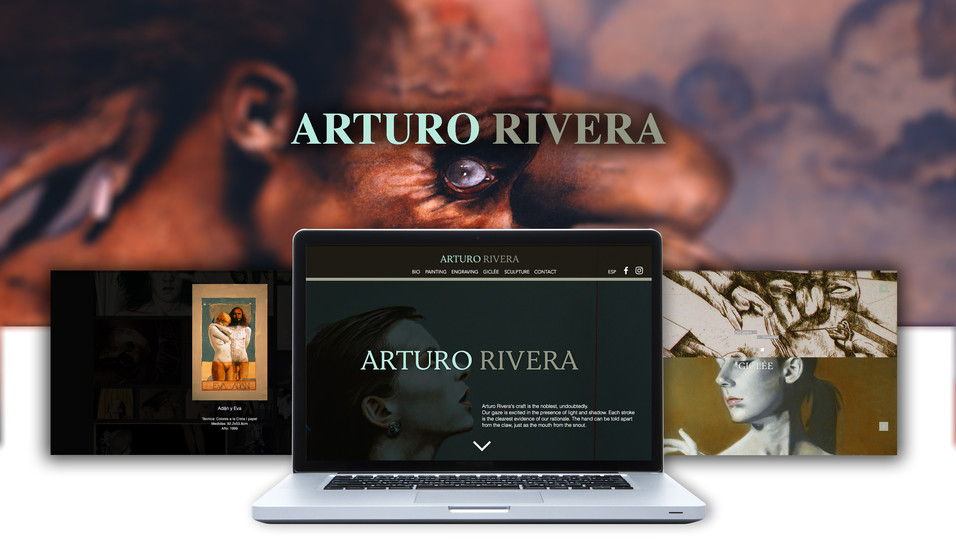 Pintor Arturo Rivera