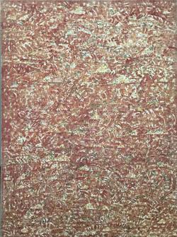 油画 130*96 Toile rouge