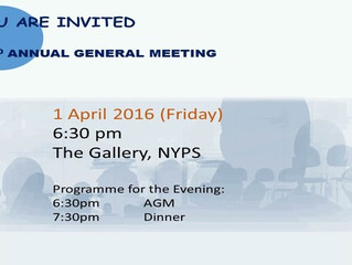 NYPS PTA 22nd Annual General Meeting 2016