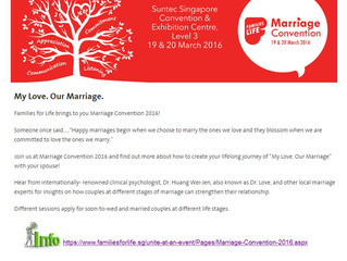 Marriage Convention 2016 is here
