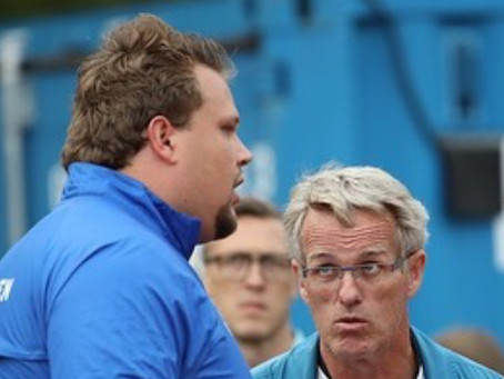 """""""In The Ring with Coach V""""  by Vésteinn Hafsteinsson with Dan McQuaid. Issue #1: Discus Battles"""