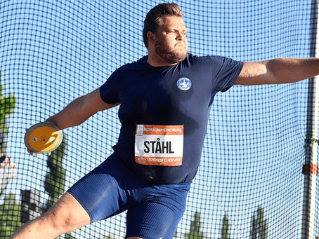 """""""In The Ring with Coach V""""  by Vésteinn Hafsteinsson with Dan McQuaid. Issue #3: More Discus Days"""