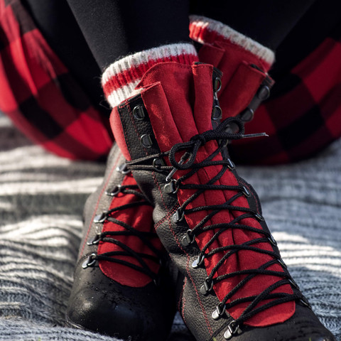 Martino Footwear : la botte Banff rouge - édition 2020