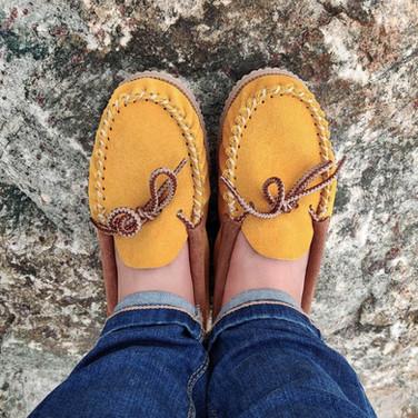 Martino Footwear : les mocassins Colormoc jaunes