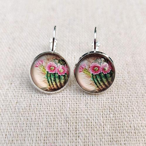Boucles Les Délicates - Cactus en Fleurs