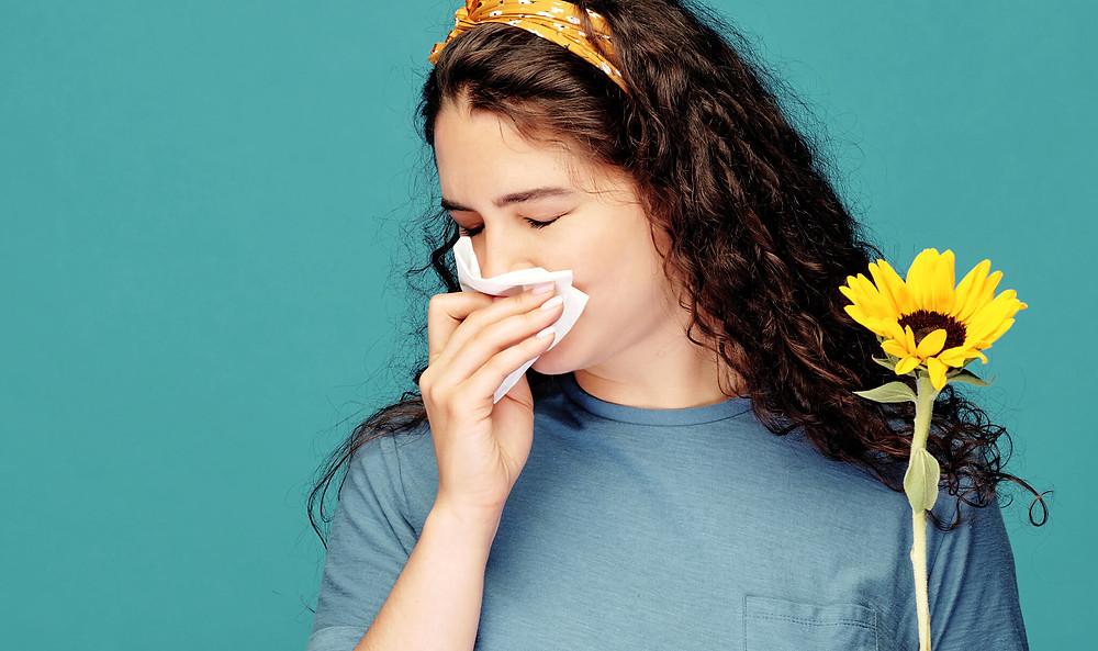 L'ostéopathie peut aider à soulager les symptômes d'allergies