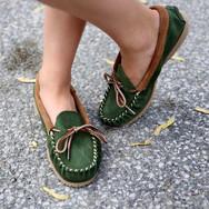 Martino Footwear : les mocassins Colormoc forêt