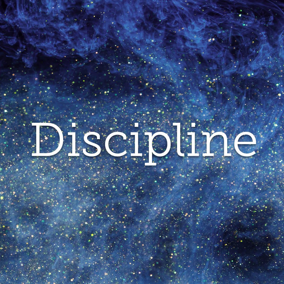 Discipline : efforts consentis organisés dans le temps de façon à favoriser une progression optimale
