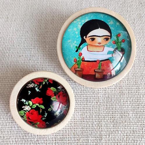 Macarons en Tandem - Frida en Fleurs