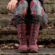 Martino Footwear : les bottes Peak bordo