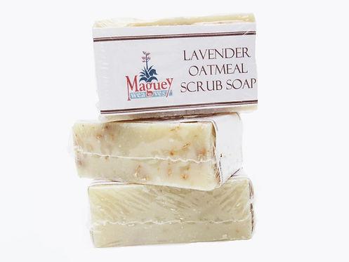 Lavender Oatmeal Scrub Soap
