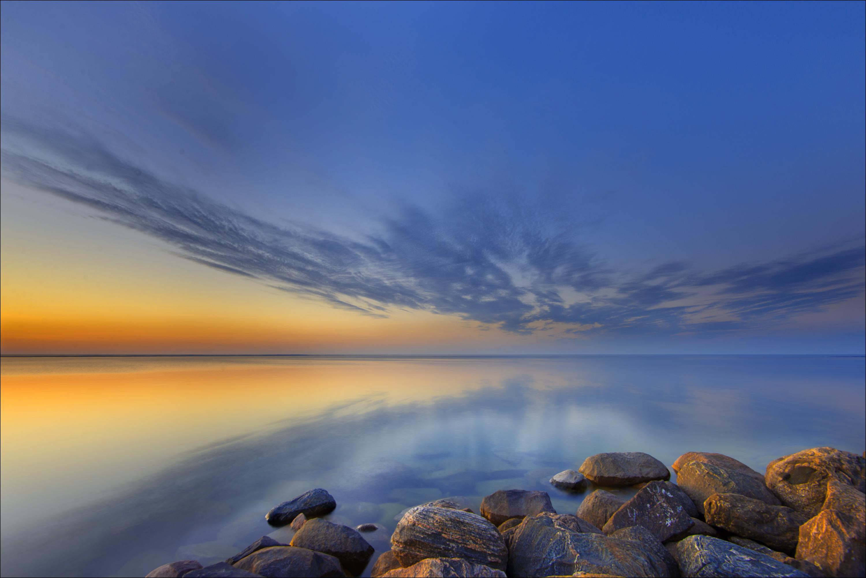 Sunset at Lake Simcoe