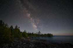 Milky way,Georgian Bay