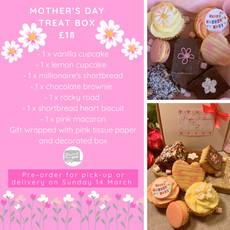 Mother's Day treat box flyer