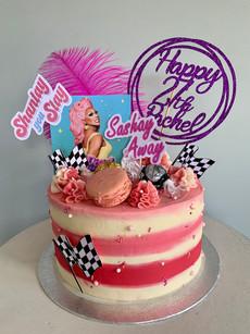 Ru Paul's Drag Race birthday cake