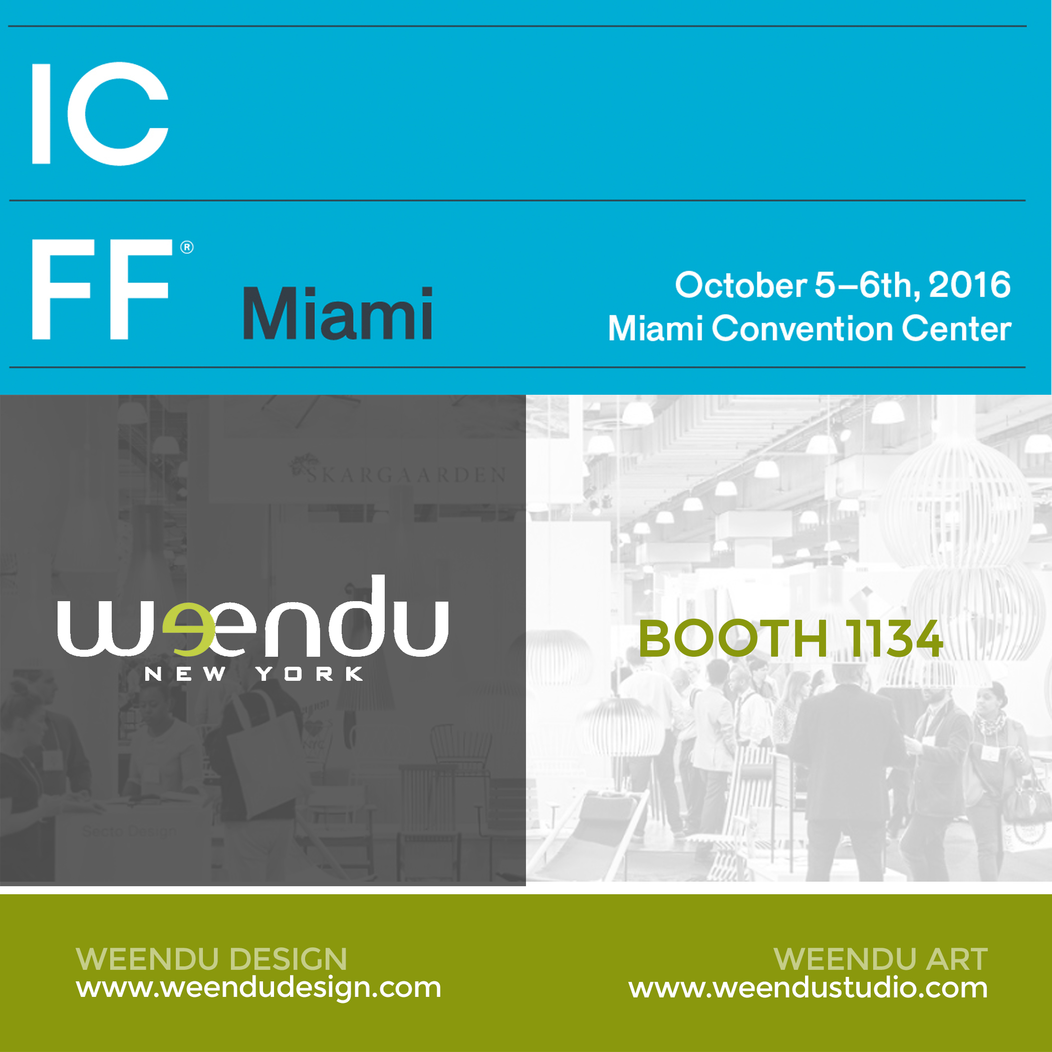 Weendu at ICFF Miami