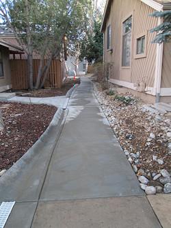 Cherry Creek Farm Sidewalk