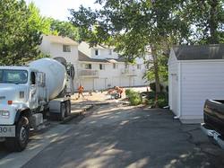 Millbrook Condominiums Parking Lot