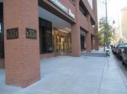 Guarantee Bank Concrete Entrance