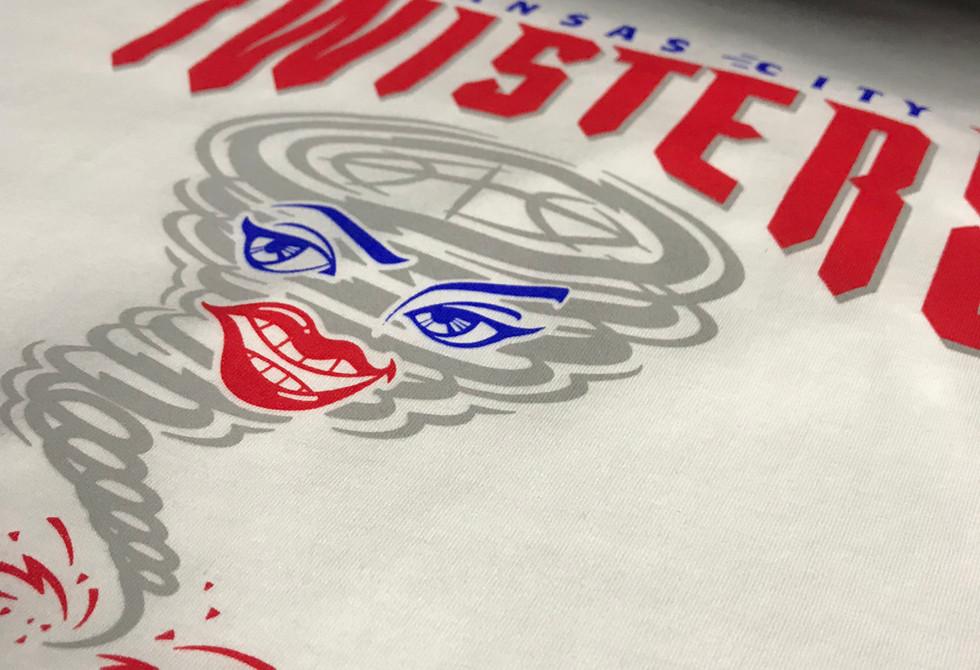 Kansas City Twisters Screen Print