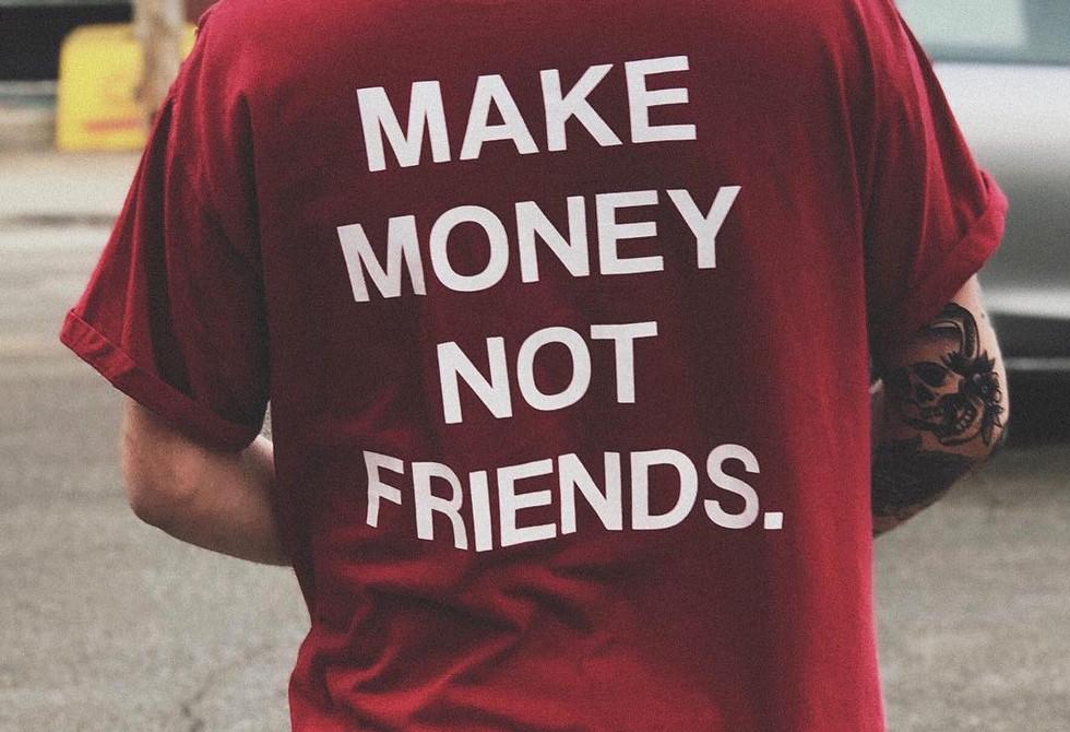 Frvme Concert T-shirts