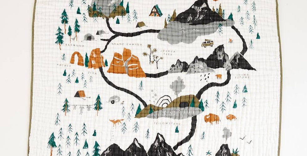National Parks Quilt