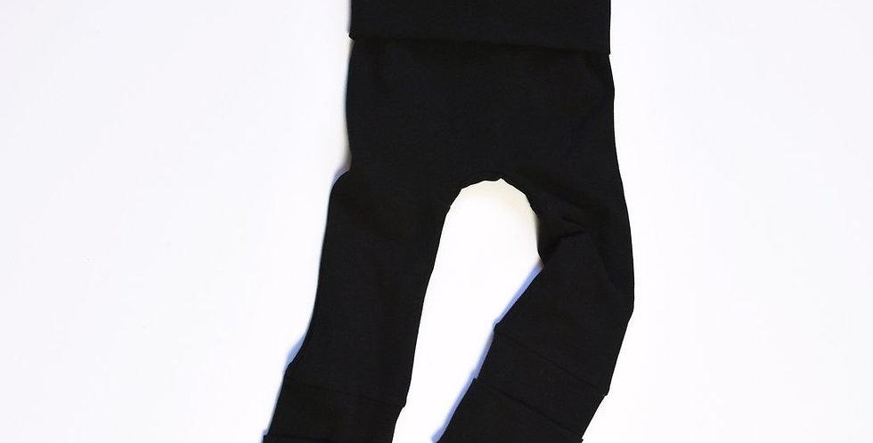 Grow With Me Pants Black