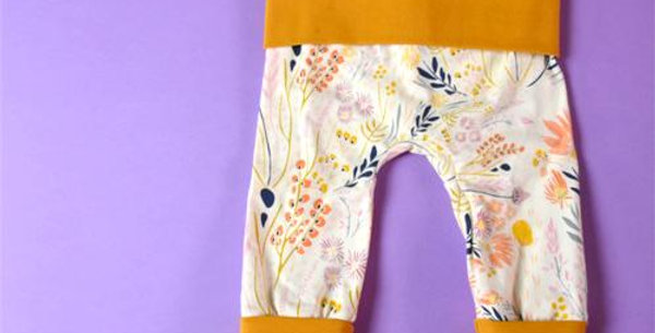 Grow With Me Pants Golden Meadow