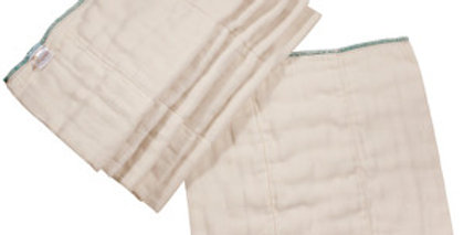 OsoCozy Bamboo Organic Cotton Prefold Diaper (6-Pack)