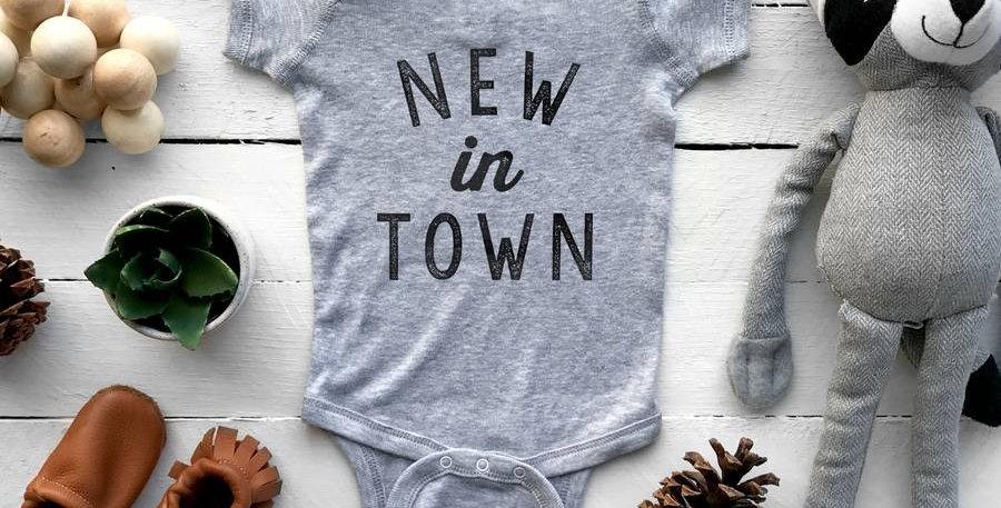 New in Town Onesie