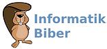 Informatik Biber Logo mit Schrift.png