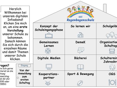 Info-Präsentation für Schulneulinge
