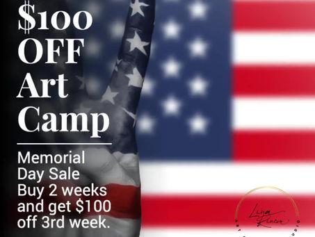 Memorial Weekend Offer
