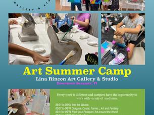 A Real Art Summer Camp!