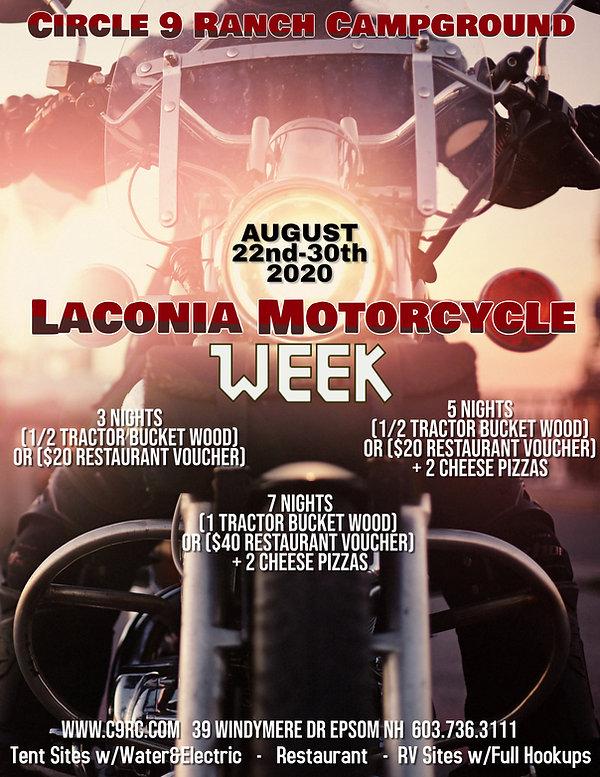 Copy of motorcycle run rally flyer templ