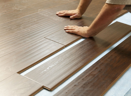 Question: What is the difference between wood, engineered, and laminated floors?