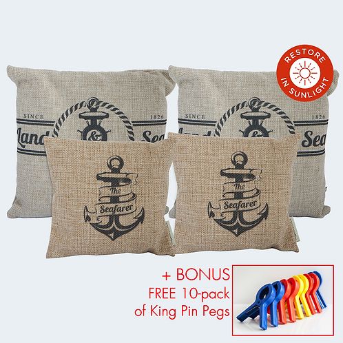 Economy Pack of 4 (Boat design)
