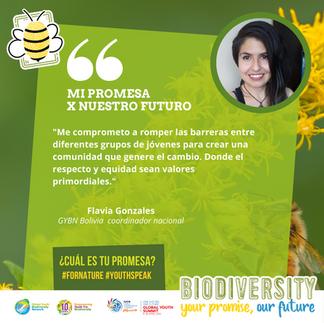 GYBN Bolivia Coordinator Flavia