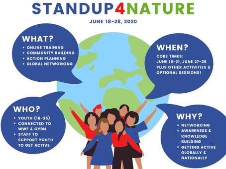 Global Youth Advocacy Training: StandUp4Nature