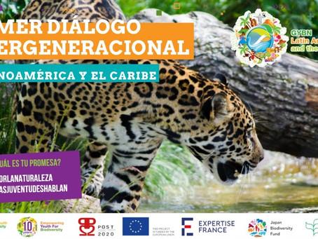Diálogo intergeneracional en América Latina y el Caribe por la Biodiversidad