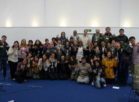 GYBN arrives in Pyeongchang for COP-12