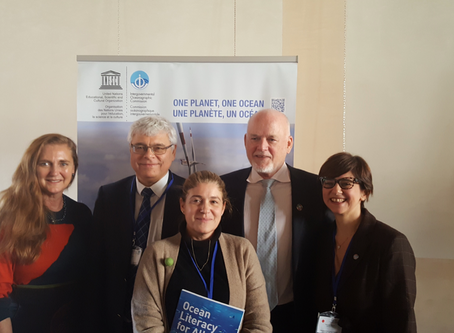 GYBN at UNESCO Ocean Literacy Conference