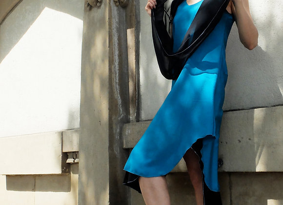 Dress with Rounded Hem