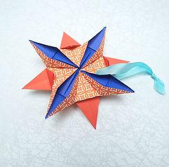 Décoration faite à la main - Étoile Origami