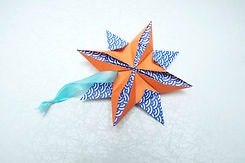 Origami Star Hand made